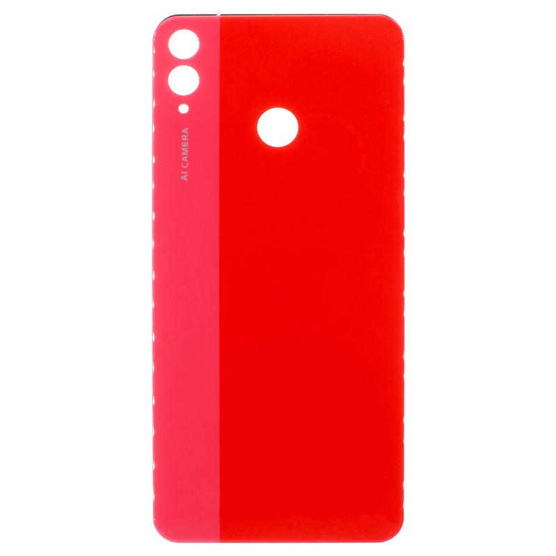 Купить заднюю крышка Huawei Honor 8X красную по цене 340 руб.